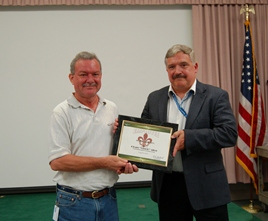 H. Charles Allen Earns Outstanding Support Scientist of the Year Award from USDA ARS