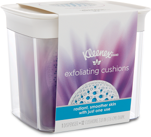 KC Kleenex Exfoliating_Cushion