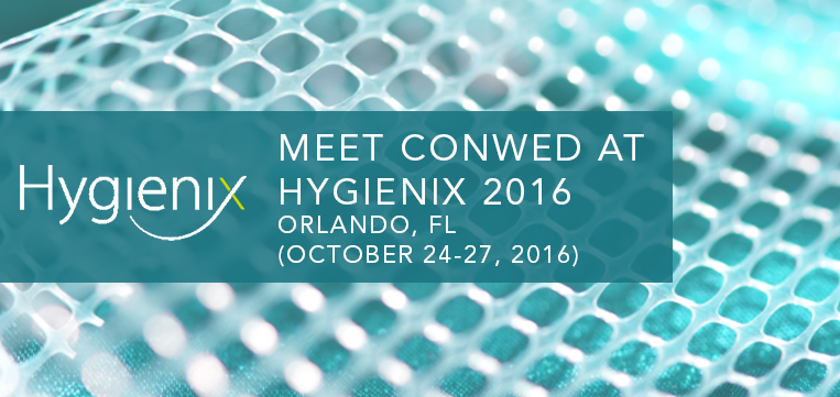 Meet Conwed at Hygienix
