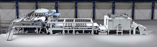 ANDRITZ presents complete production lines for nonwovens at SINCE 2013