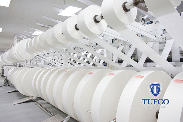 Tufco's Printing Capabilities on Nonwoven Wipes and Disinfectant Wipes Goes Super Lightweight