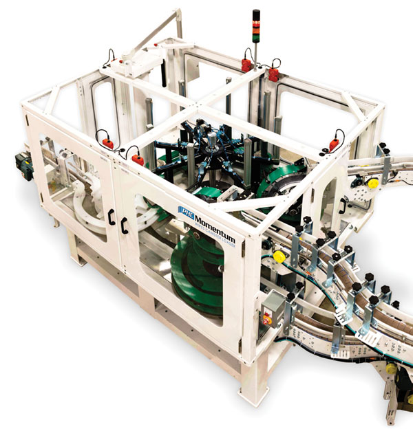 Product Handling Concepts Unveils Momentum™ Wipes Canister Loader With Double The Fill Speed
