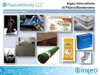 NatureWorks and US Pacific Nonwovens present Ingeo at ANEX 2012